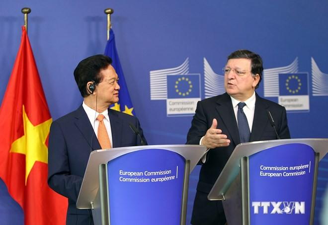 Premier Nguyen Tan Dung: Vietnam will umfassende Partnerschaft mit der EU verstärken - ảnh 1