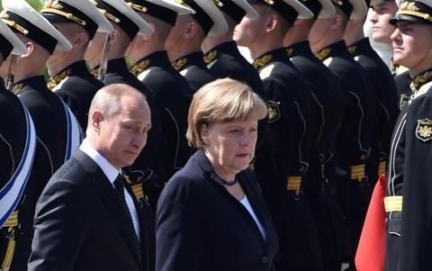 Deutschland und Russland rufen diplomatische Maßnahmen für bilaterale Probleme auf - ảnh 1
