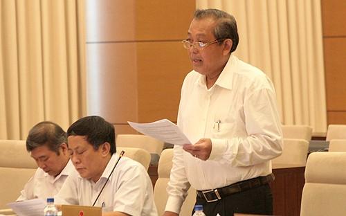 Abschluss der Sitzung des Ständigen Parlamentsausschusses - ảnh 1