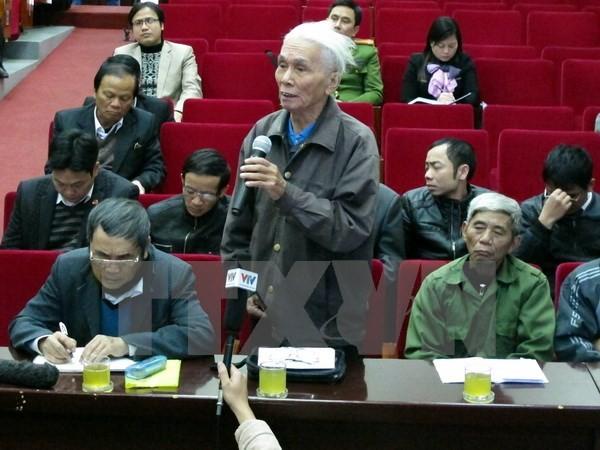 Petitionsausschuss setzt Plan zum Bürgertreffen für die kommende Parlamentssitzung um - ảnh 1
