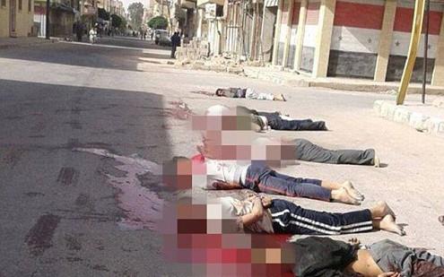 IS tötet hunderte syrische Zivilisten - ảnh 1
