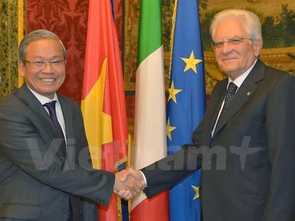 Vietnam-Italien-Beziehungen verstärken - ảnh 1
