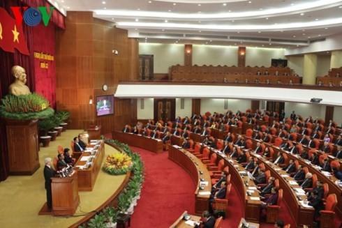 Pressemitteilung zum Abschluss der 12. Sitzung des KPV-Zentralkomitees - ảnh 1