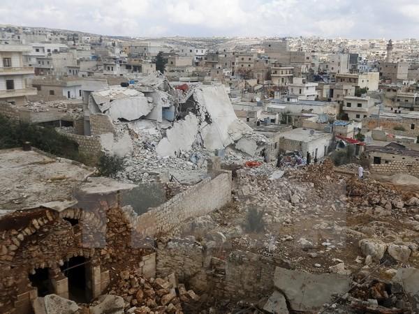 SOHR: Ein führender Kommandeur der Al-Qaida in Syrien bei Luftangriff getötet - ảnh 1