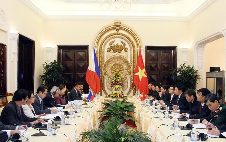 Vietnam und die Philippinen wollen ihre Partnerschaft verstärken - ảnh 1