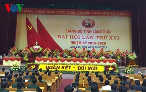 Parteikonferenz der Provinzen Bac Lieu, Soc Trang und Lang Son - ảnh 1