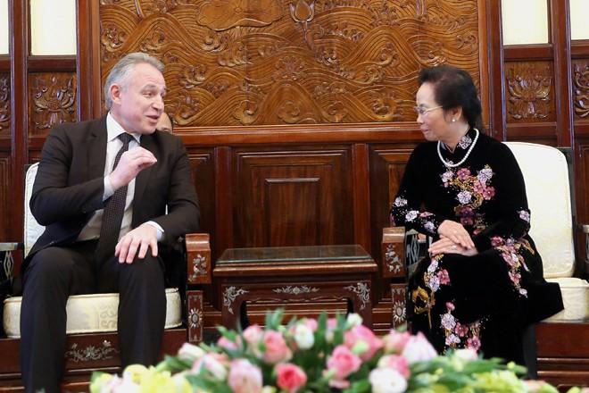 Vietnam und Weißrussland verstärken die Kooperation der Gewerkschaften - ảnh 1
