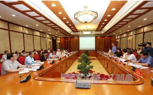 Politbüro und Parteisekretariat führen Themenkonferenz - ảnh 1