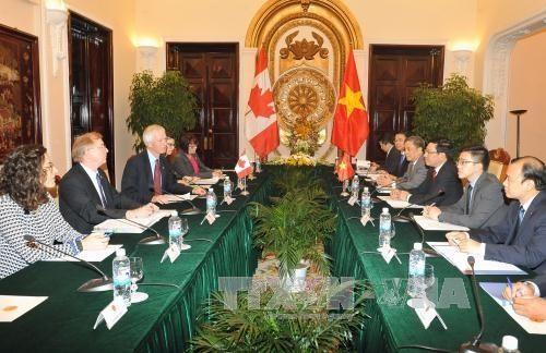 Vietnam und Kanada verstärken ihre Zusammenarbeit in zahlreichen Bereichen - ảnh 1