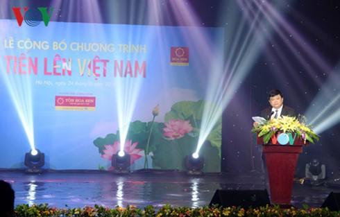 """VOV veröffentlicht das Programm """"Geh vorwärts, Vietnam"""" - ảnh 1"""