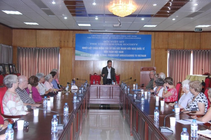 Delegation von Friendship Force International besucht Vietnam - ảnh 1