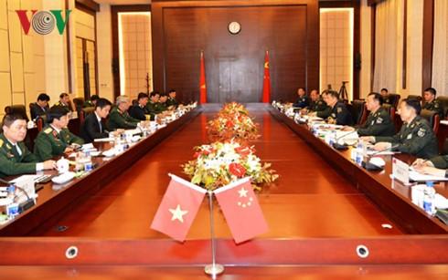Vietnam und China richten sich auf eine Vision für eine Verteidigungszusammenarbeit ein - ảnh 1