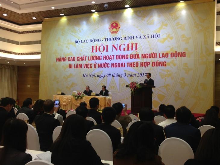 Qualität der vietnamesischen Arbeitskräfte im Ausland verbessern - ảnh 1