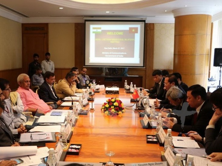 Vietnam und Indien fördern Zusammenarbeit in Postwesen und Telekommunikation - ảnh 1