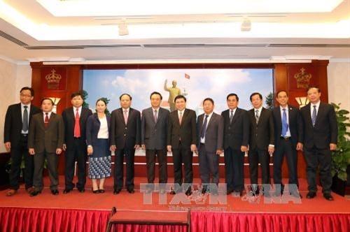Ho-Chi-Minh-Stadt und Xiengkhuang verstärken Zusammenarbeit im Bibliotheks- und Museumswesen - ảnh 1