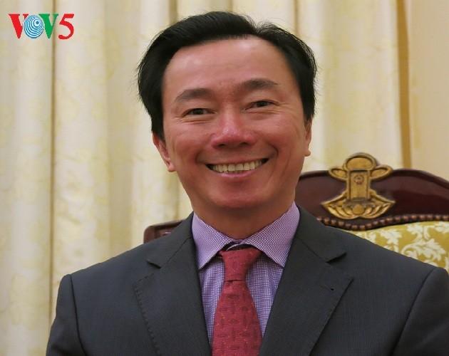 Botschafter Pham Sanh Chau, ein Diplomat für das Kulturerbe - ảnh 1