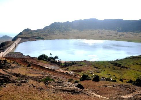 Schöne Landschaft des Bergs Thoi Loi auf Insel Ly Son - ảnh 2