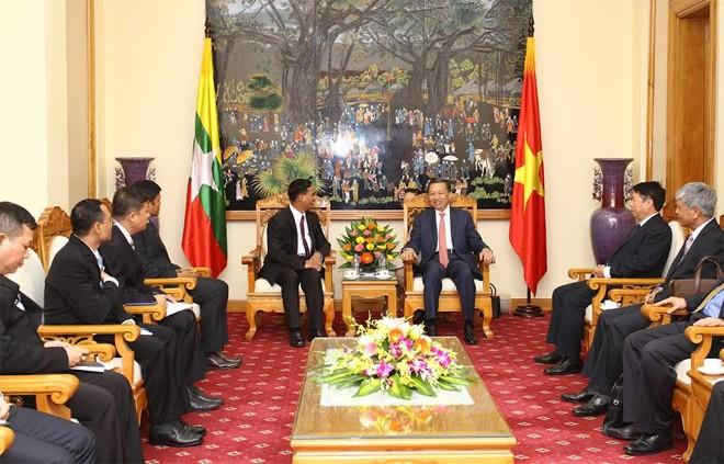 Verstärkung der Zusammenarbeit zwischen Vietnam und Myanmar in Sicherheit - ảnh 1