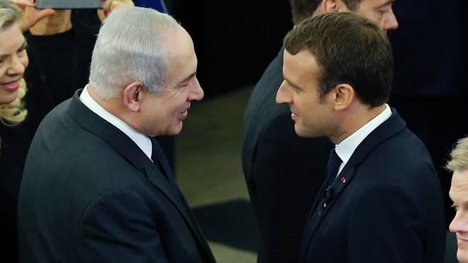 Frankreichs Präsident ruft zur Wiederherstellung der Nahost-Friedensgespräche auf - ảnh 1