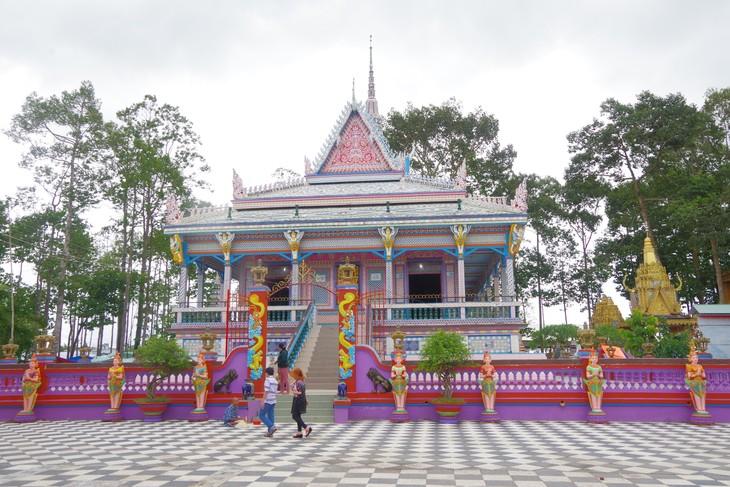 Pagoden der Khmer in Soc Trang - ảnh 1