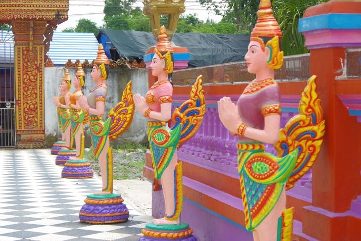 Pagoden der Khmer in Soc Trang - ảnh 3