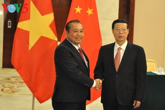Vietnam verstärkt seine freundschaftliche Kooperation mit China - ảnh 1