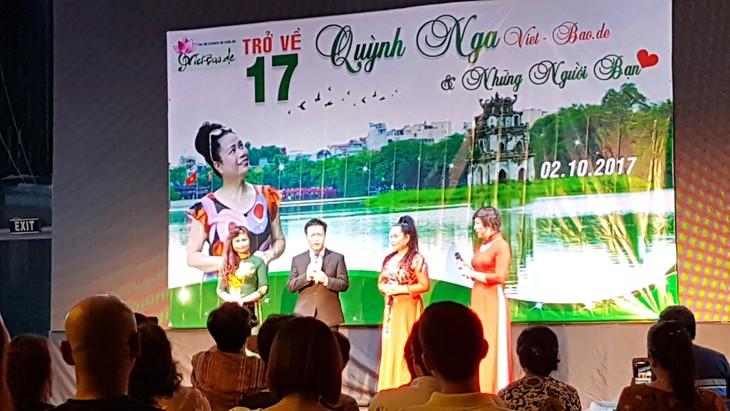 Sängerin, Journalistin Quynh Nga und die Rückkehr 2017 - ảnh 1