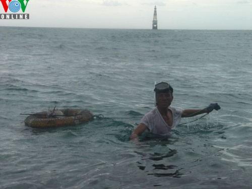 Catching amberjacks on Truong Sa islands - ảnh 4