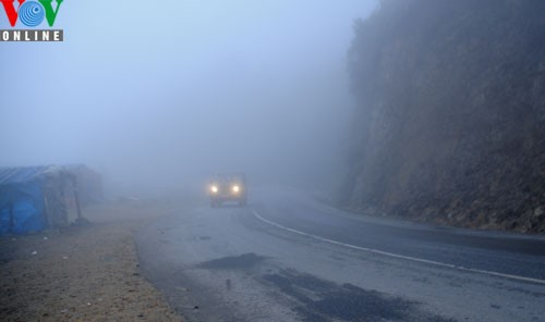 Sapa in freezing cold weather - ảnh 10