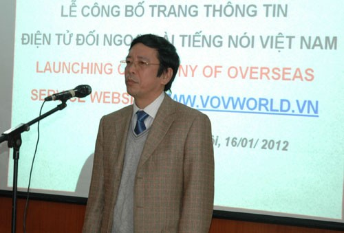 VOV Overseas Service's website launched - ảnh 2