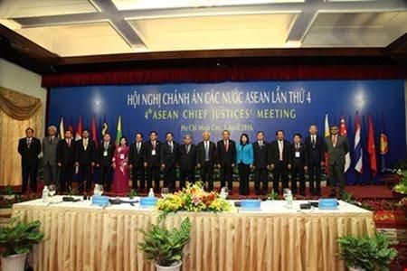 第四次东盟国家法院院长会议在胡志明市举行 - ảnh 1