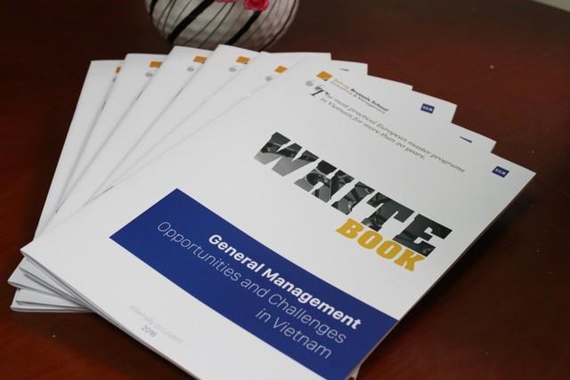 越比研究生项目发布越南企业扶持白皮书 - ảnh 1