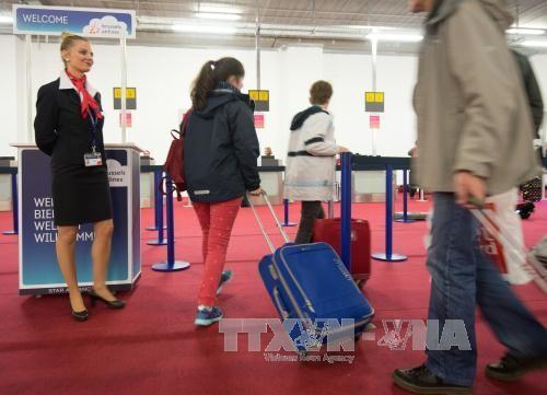 比利时札文腾国际机场恢复正常运行 - ảnh 1