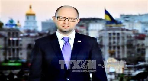 乌克兰总理宣布辞职 - ảnh 1