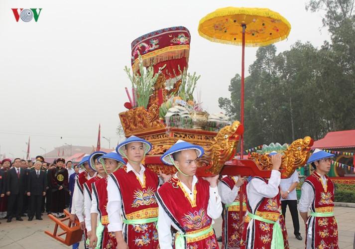 富寿省2016年雄王祭祖大典暨雄王庙会 - ảnh 10