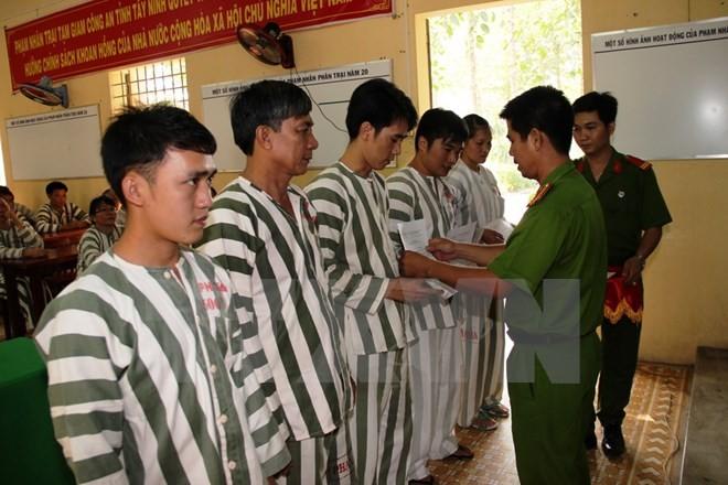 越南公安部建议在国庆期间为近2.5万名犯人减刑 - ảnh 1