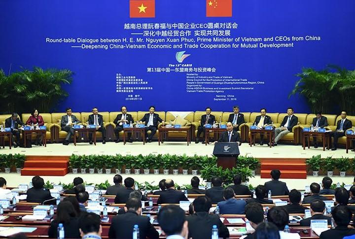 越南政府总理阮春福访华全程图片集锦 - ảnh 5