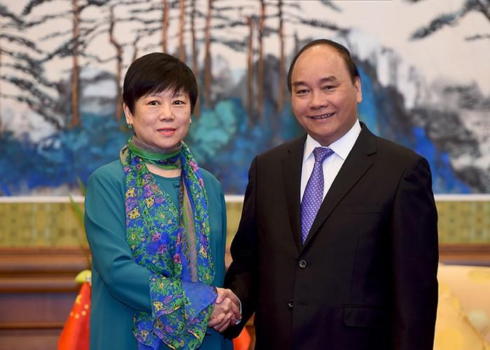 越南政府总理阮春福访华全程图片集锦 - ảnh 10