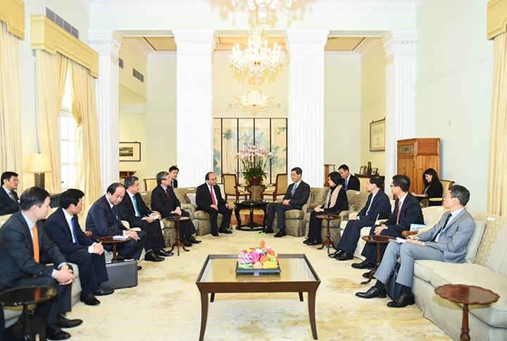 越南政府总理阮春福访华全程图片集锦 - ảnh 15