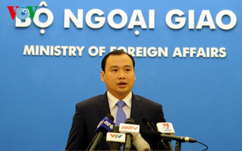 越南外交部例行记者会:各方要为维护东海和平合作做出积极贡献 - ảnh 1