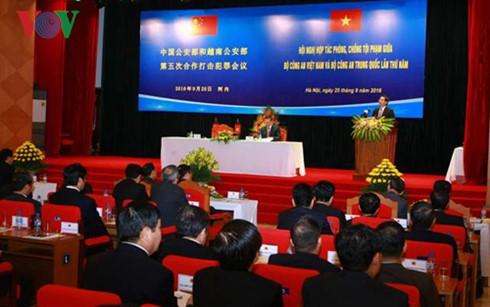 越中公安部第五次合作打击犯罪会议举行 - ảnh 1