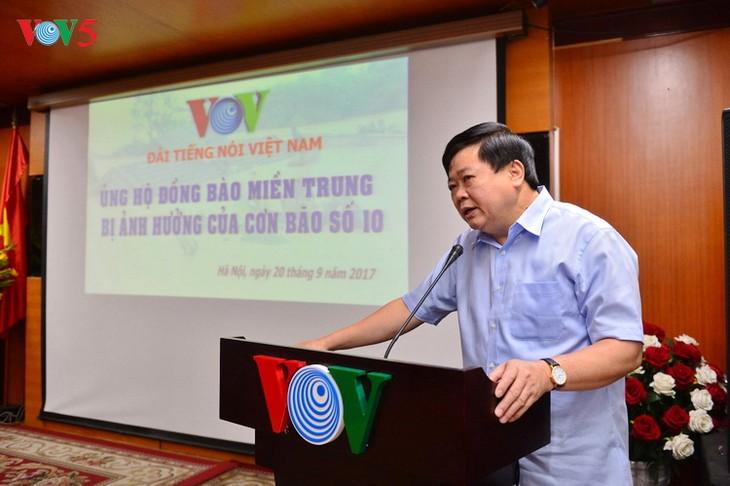 Đài TNVN phát động quyên góp ủng hộ đồng bào miền Trung - ảnh 1