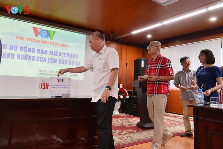 Đài TNVN phát động quyên góp ủng hộ đồng bào miền Trung - ảnh 2