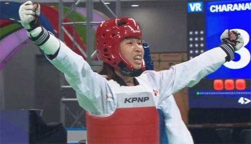 Taekwondo: 1ère médaille d'argent du Vietnam aux Championnats mondiaux - ảnh 1