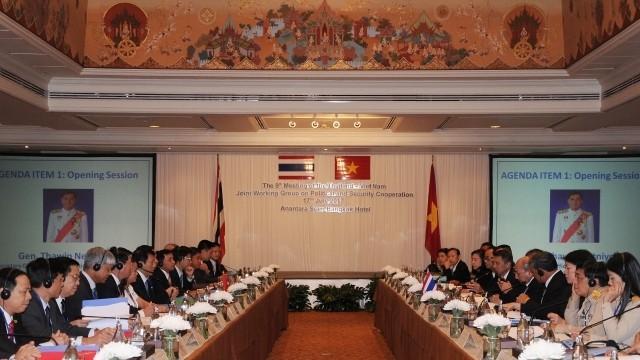 9ème réunion du groupe de travail mixte Vietnam-Thaïlande - ảnh 1