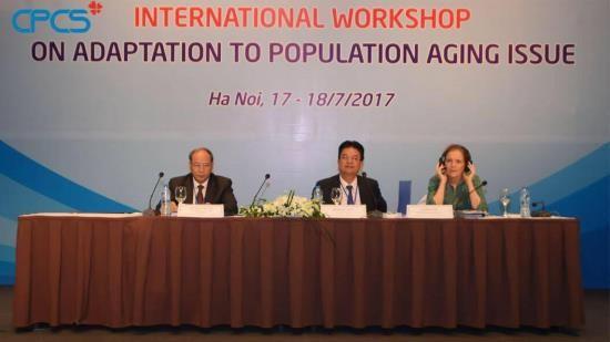 Conférence internationale sur l'adaptation au vieillissement de la population - ảnh 1
