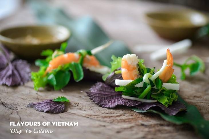 Diep to l ambassadrice de la gastronomie vietnamienne au - Cours de cuisine vietnamienne ...