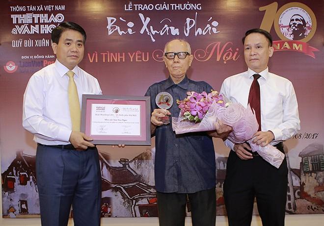 10ème édition de la remise du prix « Bui Xuan Phai-Pour l'amour de Hanoï » - ảnh 1