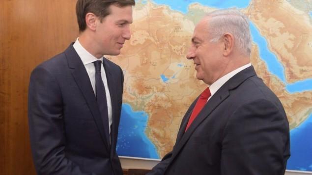 """Trump """"très engagé"""" dans le processus de paix israélo-palestinien - ảnh 1"""