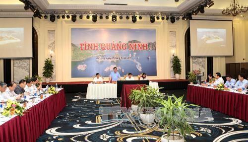 Déplacement de Vuong Dinh Hue à Quang Ninh - ảnh 1